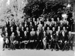 poza Baroului Vrancea, anul 1924